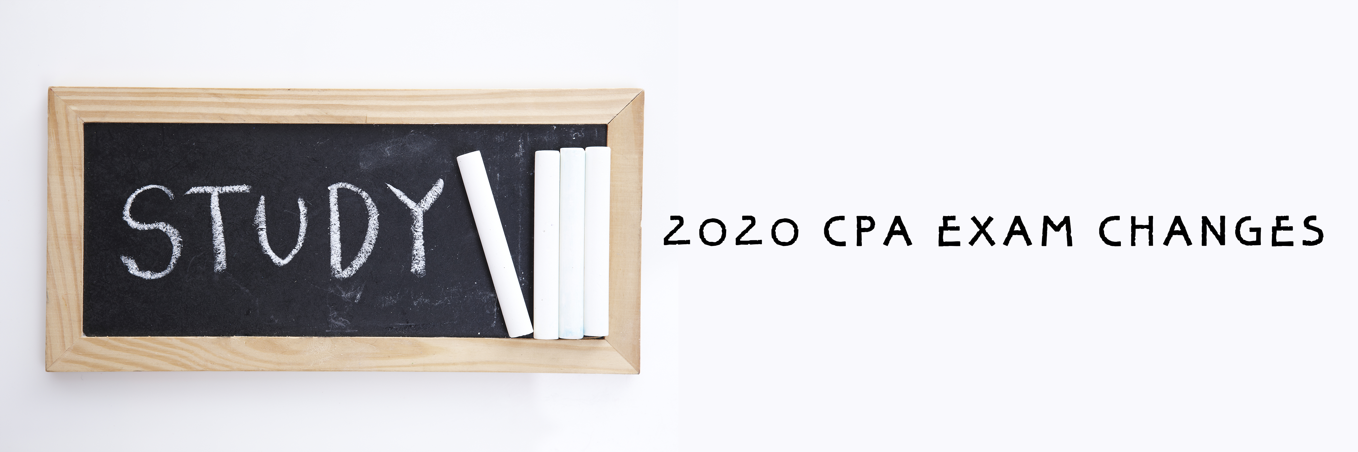 2020 CPA EXAM CHANGES